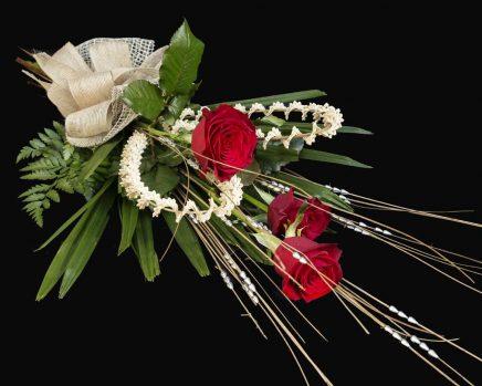 Triple Treat -Three Red Roses