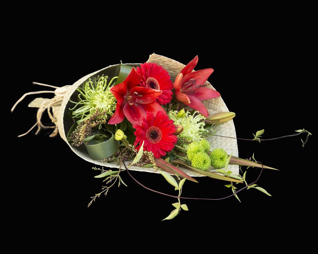Flax Beauty Flowers On Bank